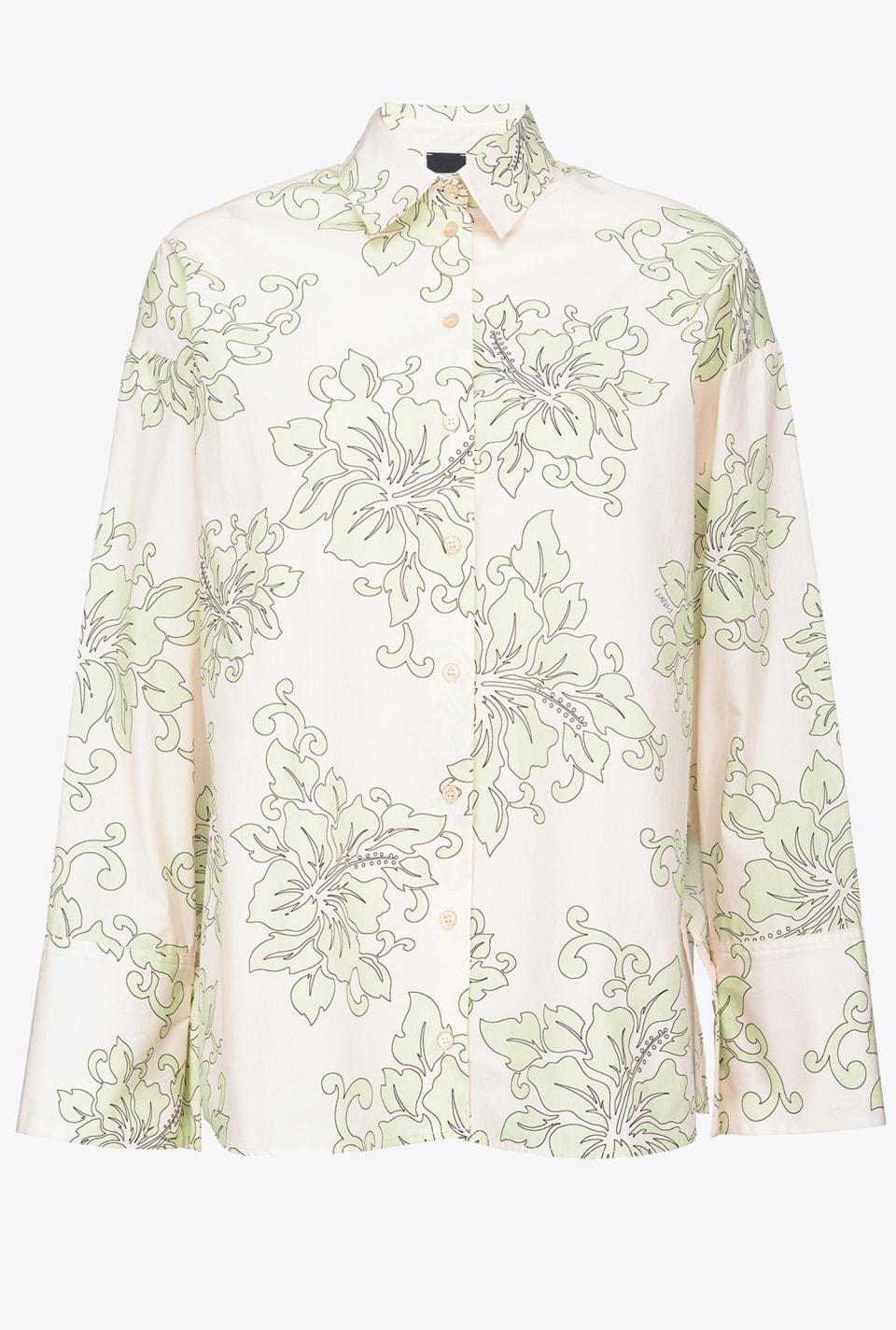 Camisa con estampado Hawaii - Pinko