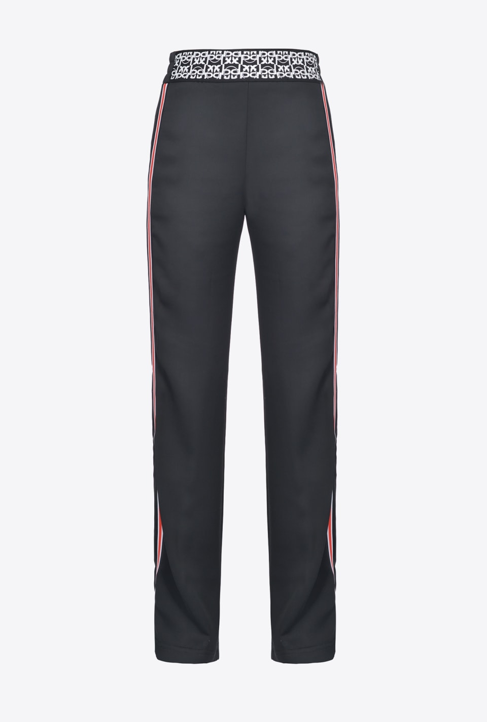 Sporty satin trousers - Pinko