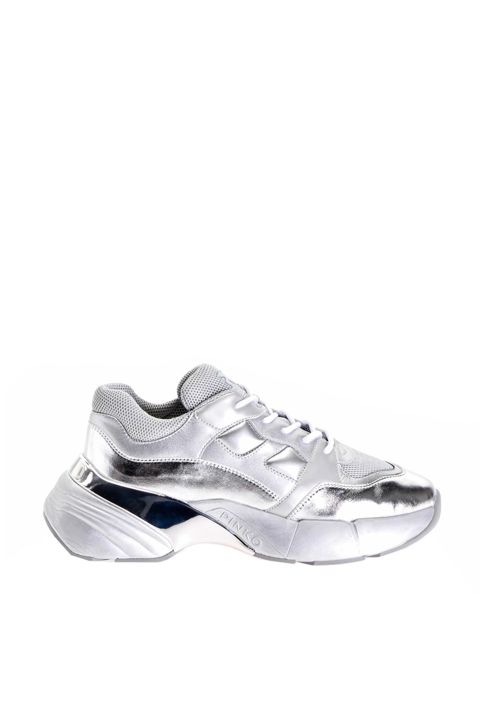 Sneakers Shoes To Rock Silver