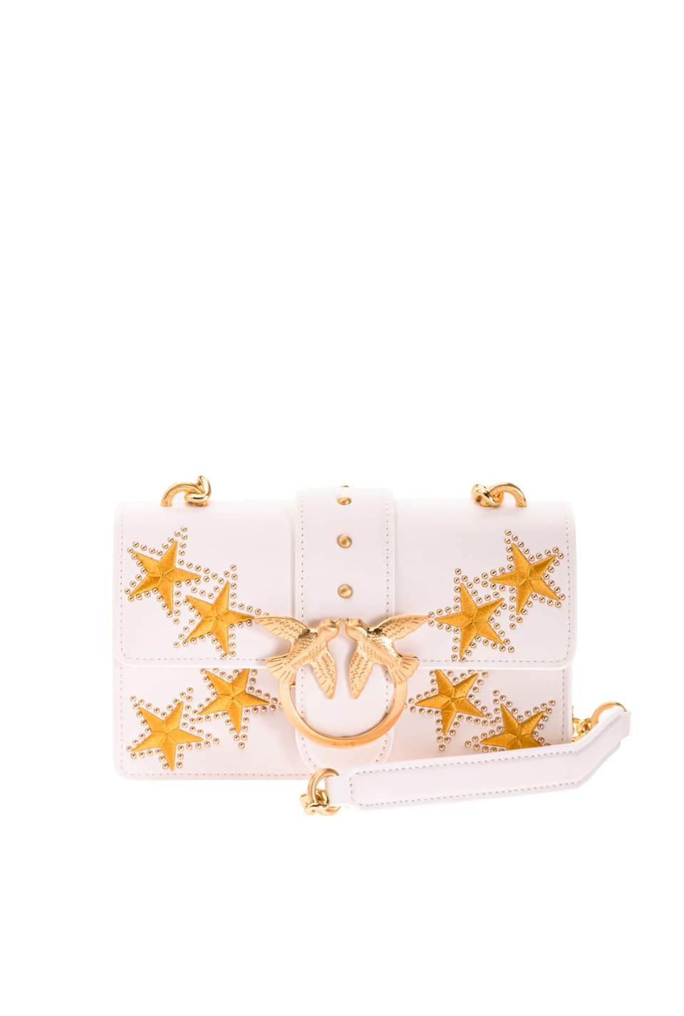 Mini Love Bag Icon Star avec broderie - Pinko