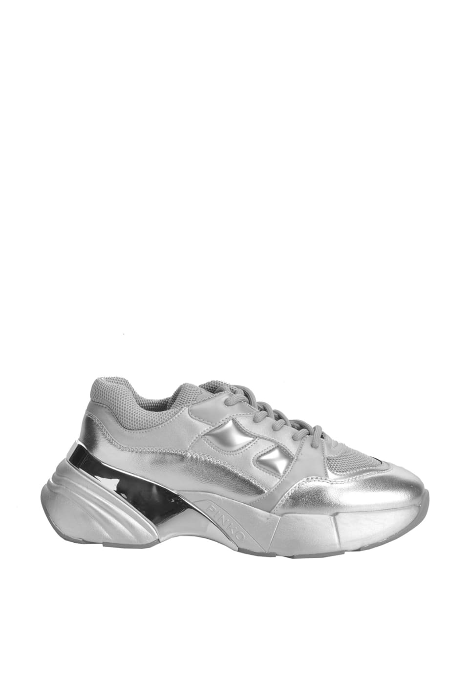Oversize Sneakers Silver - Pinko