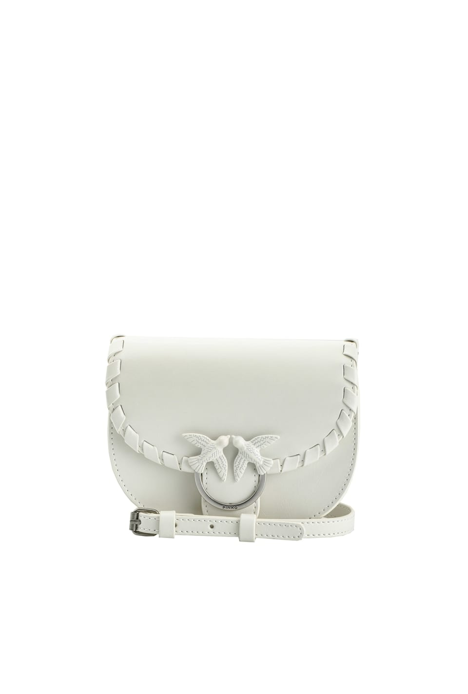 Baby Go-Round Twist Bag in leather - Pinko