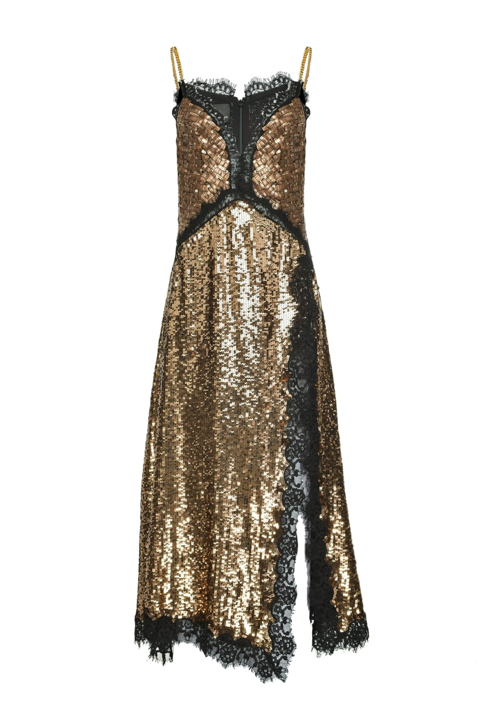 Dress in full square sequins - Pinko