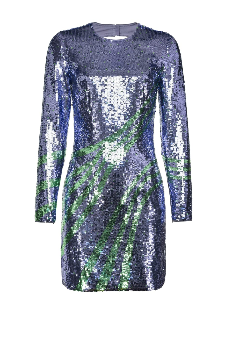 Short wave dress in full sequins - Pinko