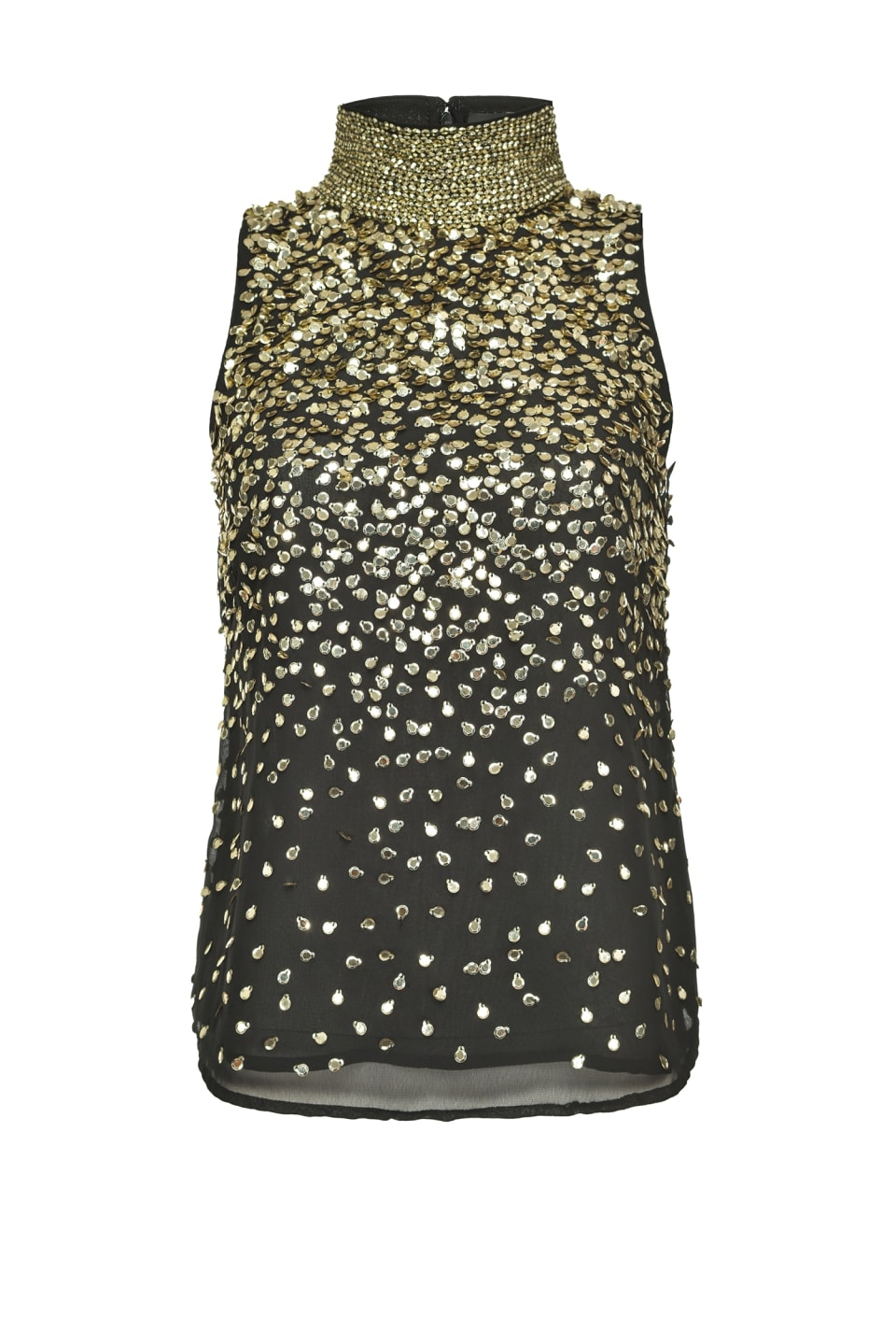 Shaded full-sequin top - Pinko
