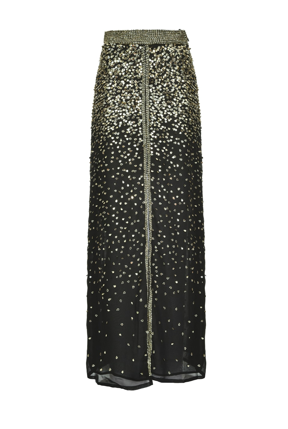 Long skirt covered with shaded sequins - Pinko