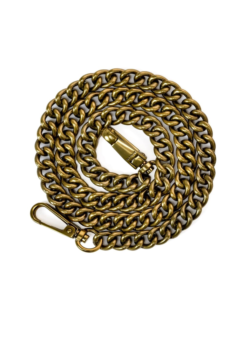 Metal chain shoulder strap