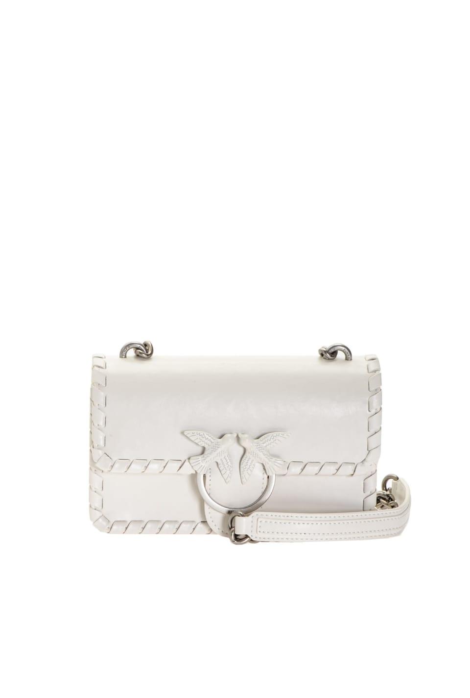 Mini Love Bag Twist in pelle