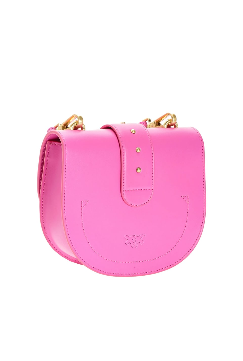 Round Love Bag Simply en cuir