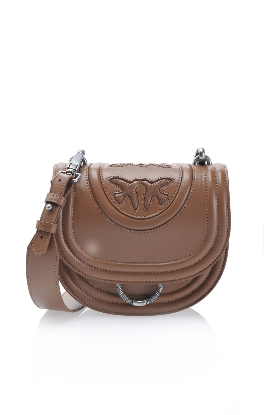 Round Love Bag New Monogram in nappa