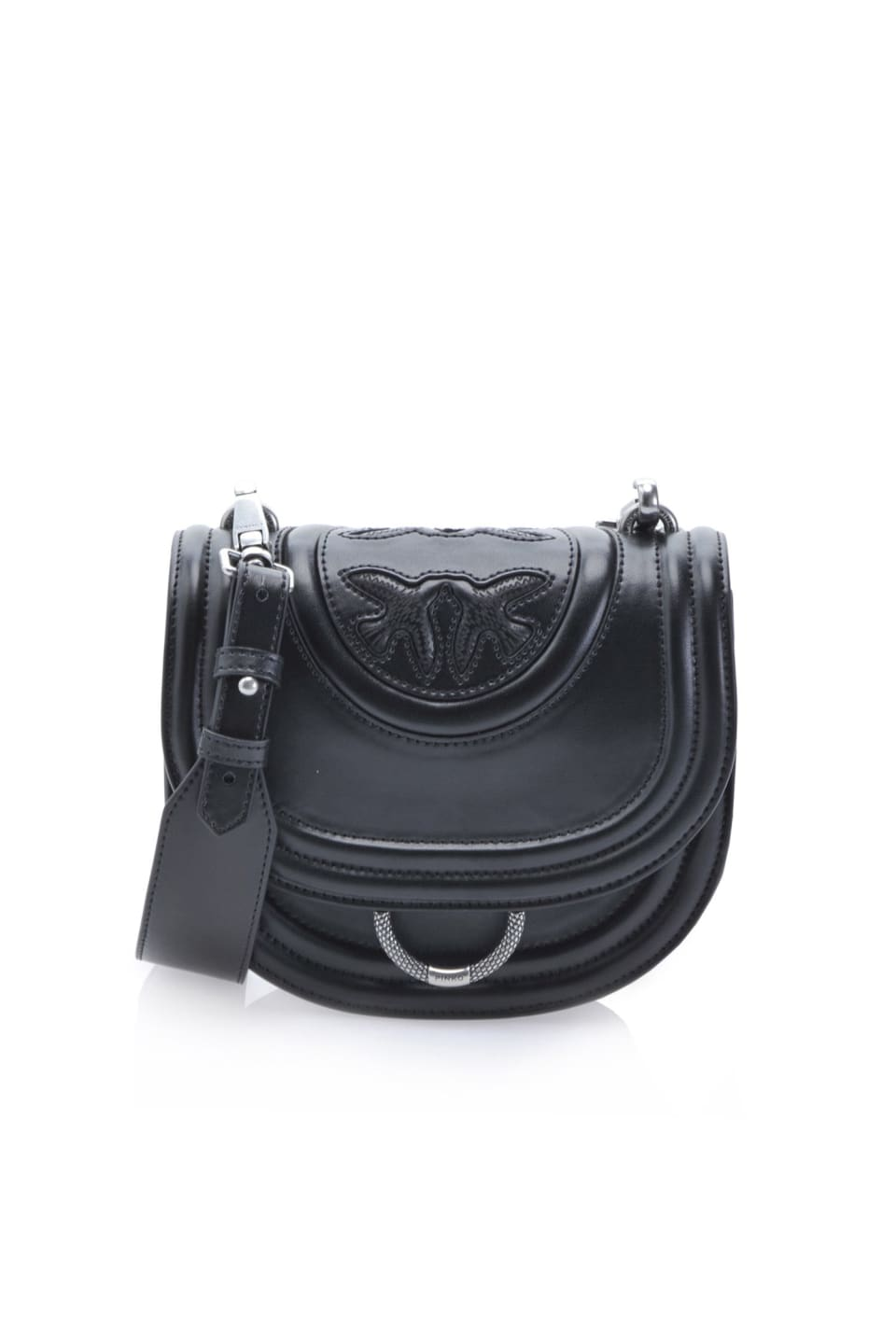 New Monogram Round Love Bag in nappa