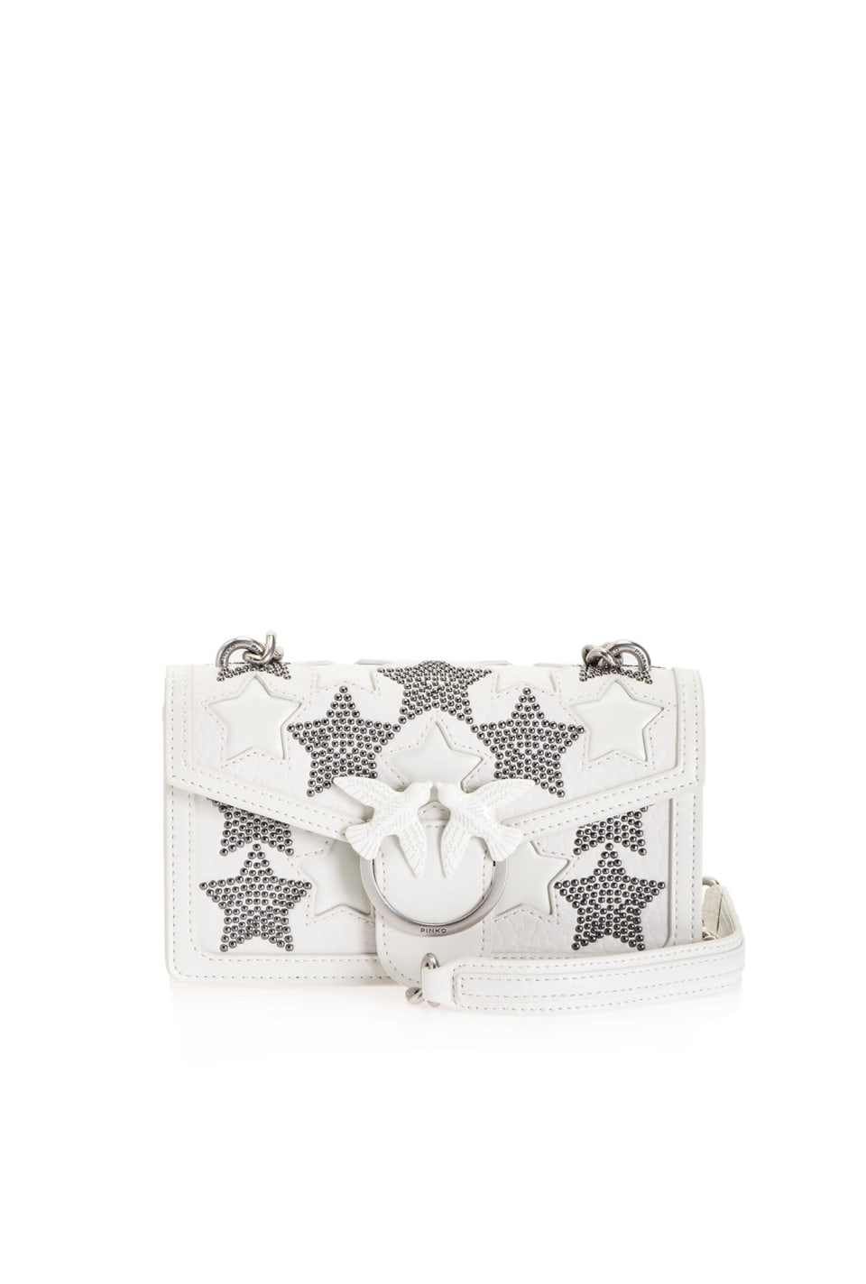 Mini Love Bag Starry Sky con borchie