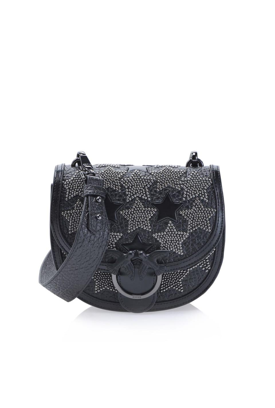 Round Love Bag Starry Sky con borchie