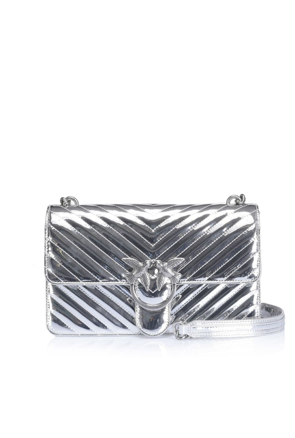 Mirror-finish Quilting Love Bag