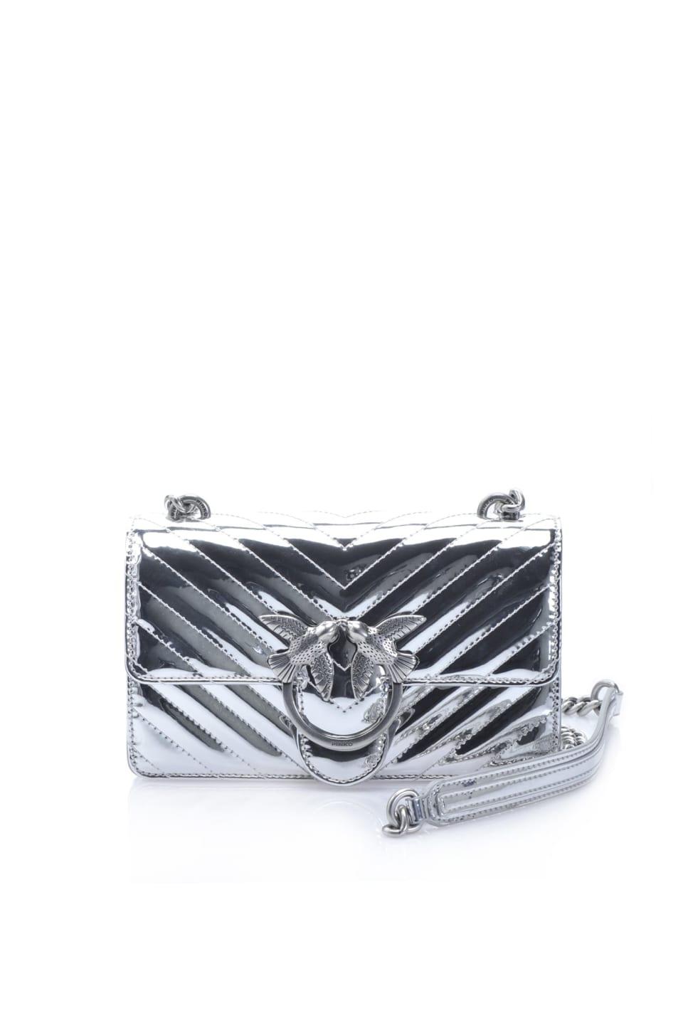 Mini Love Bag Quilting effetto specchiato