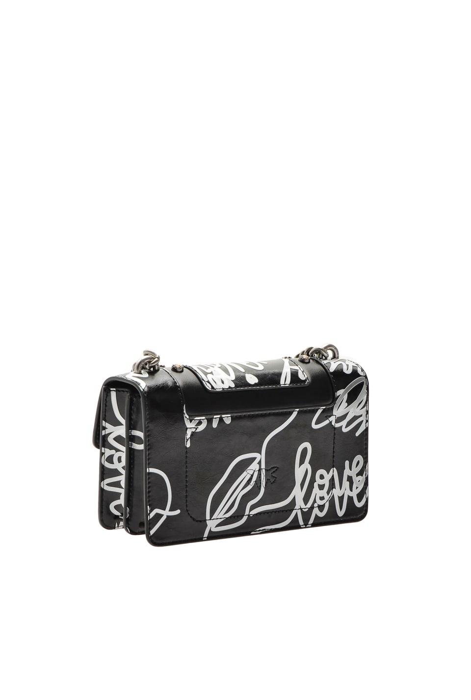 Mini Love Bag Neon in pelle