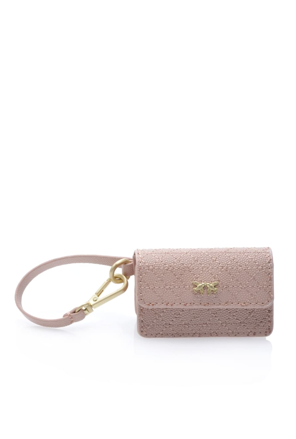 Baby Charm Bag in pelle caviar