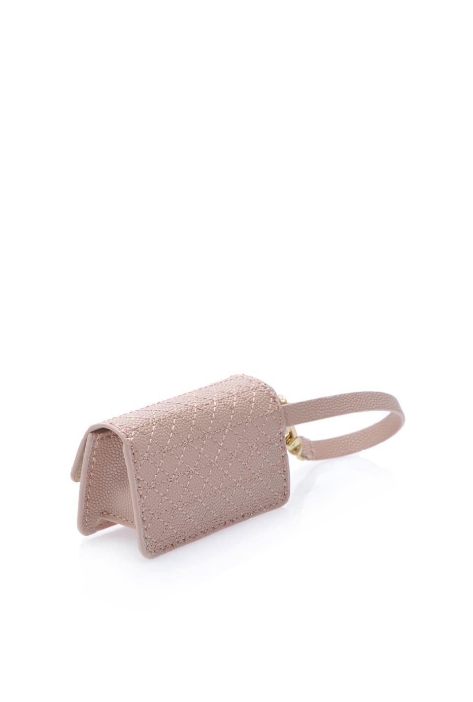 Baby Charm Bag de piel caviar