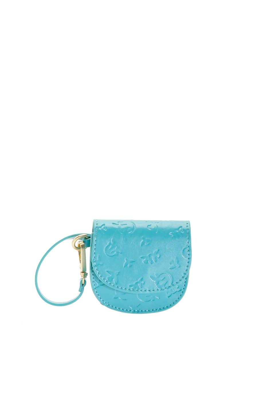 Baby Charm Bag de piel
