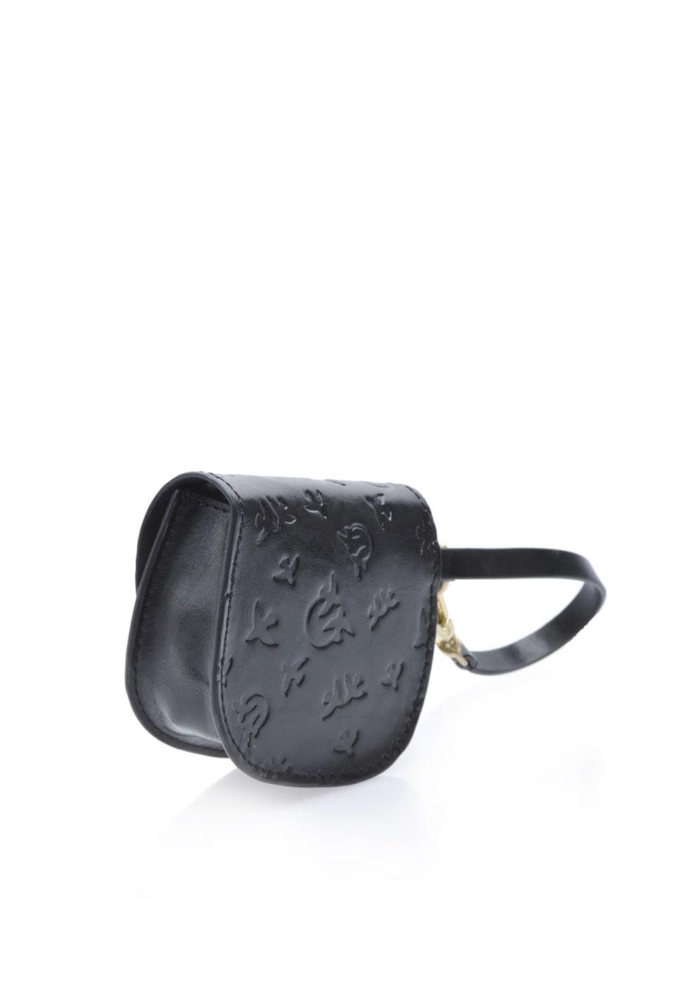 Baby Charm Bag en cuir