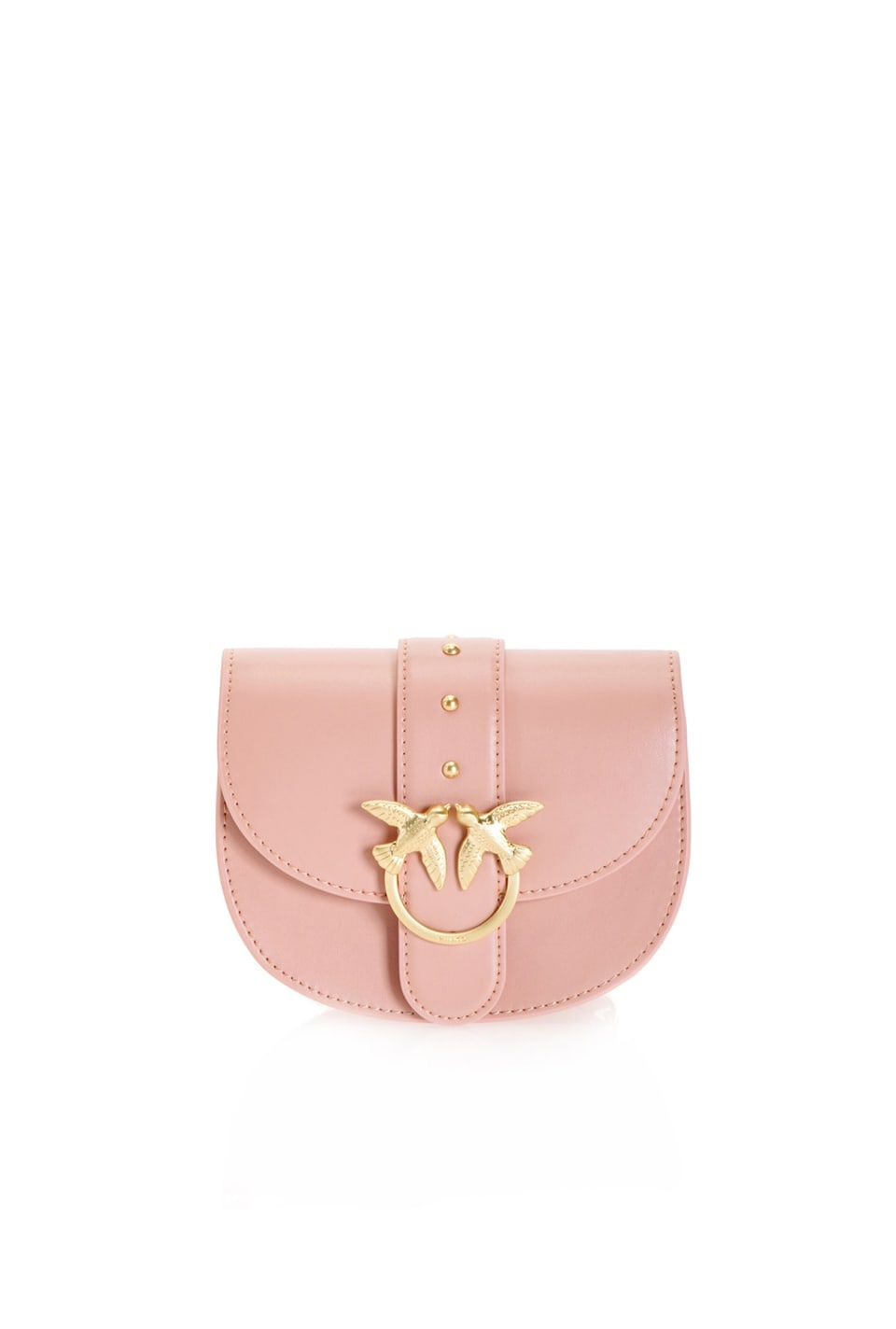 Simply Baby Round Love Bag in leather - Pinko