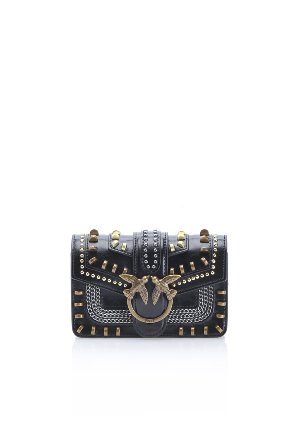 Baby Love Bag Mix Studs in pelle