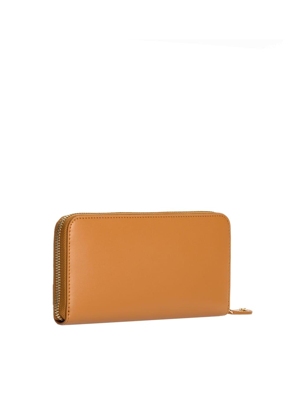 Zip-around wallet with Love Birds