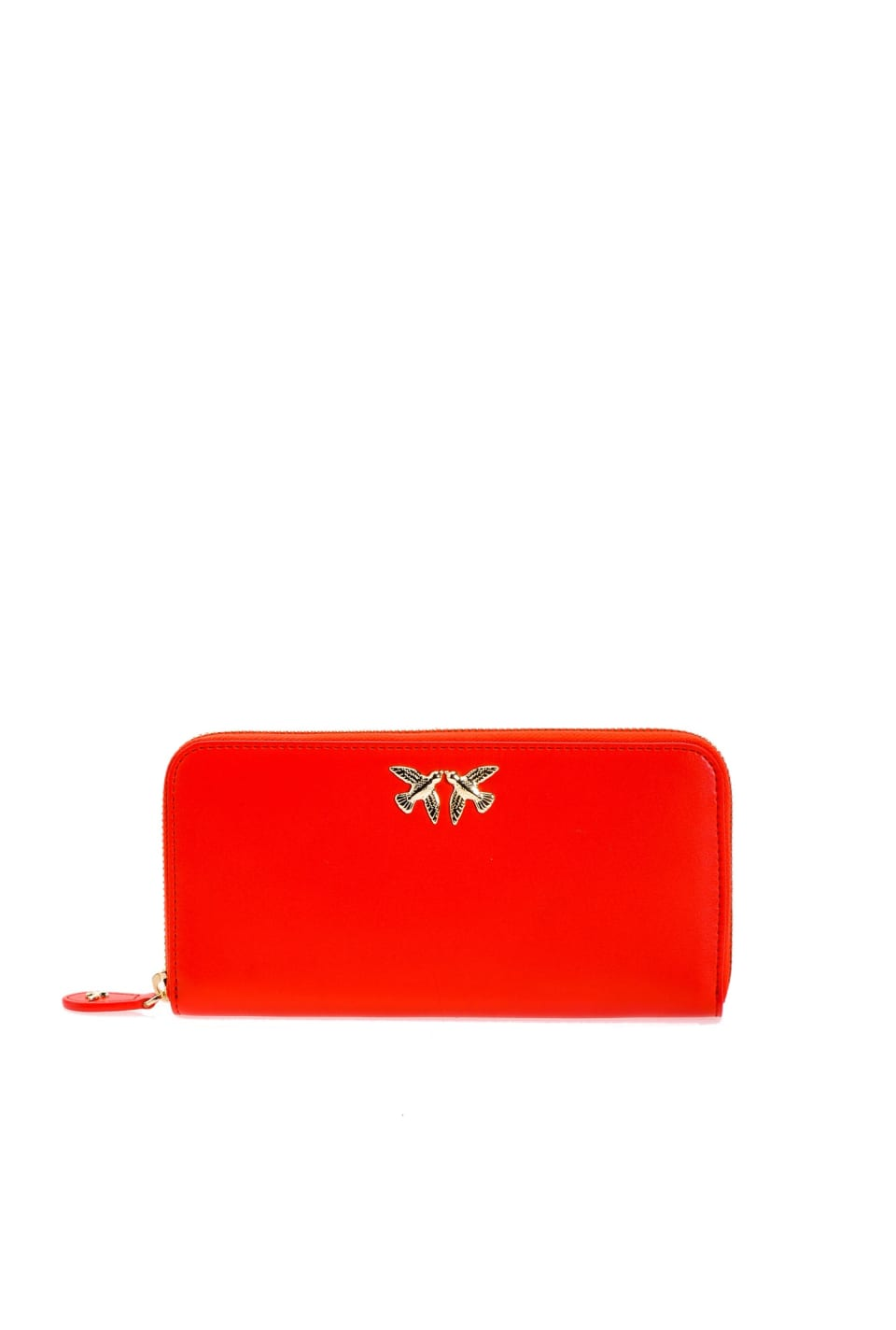 Cartera con cremallera y Love Birds