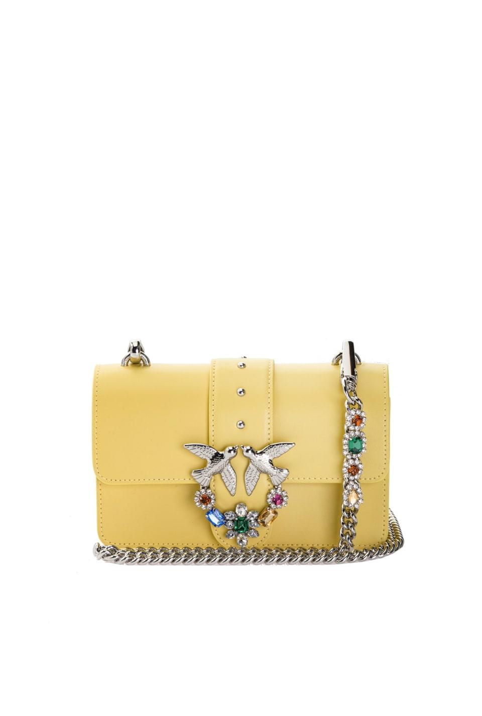 Mini Love Bag Jewels in pelle