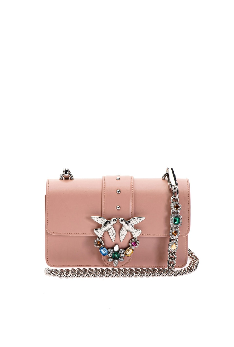 Mini Love Bag Jewels in pelle