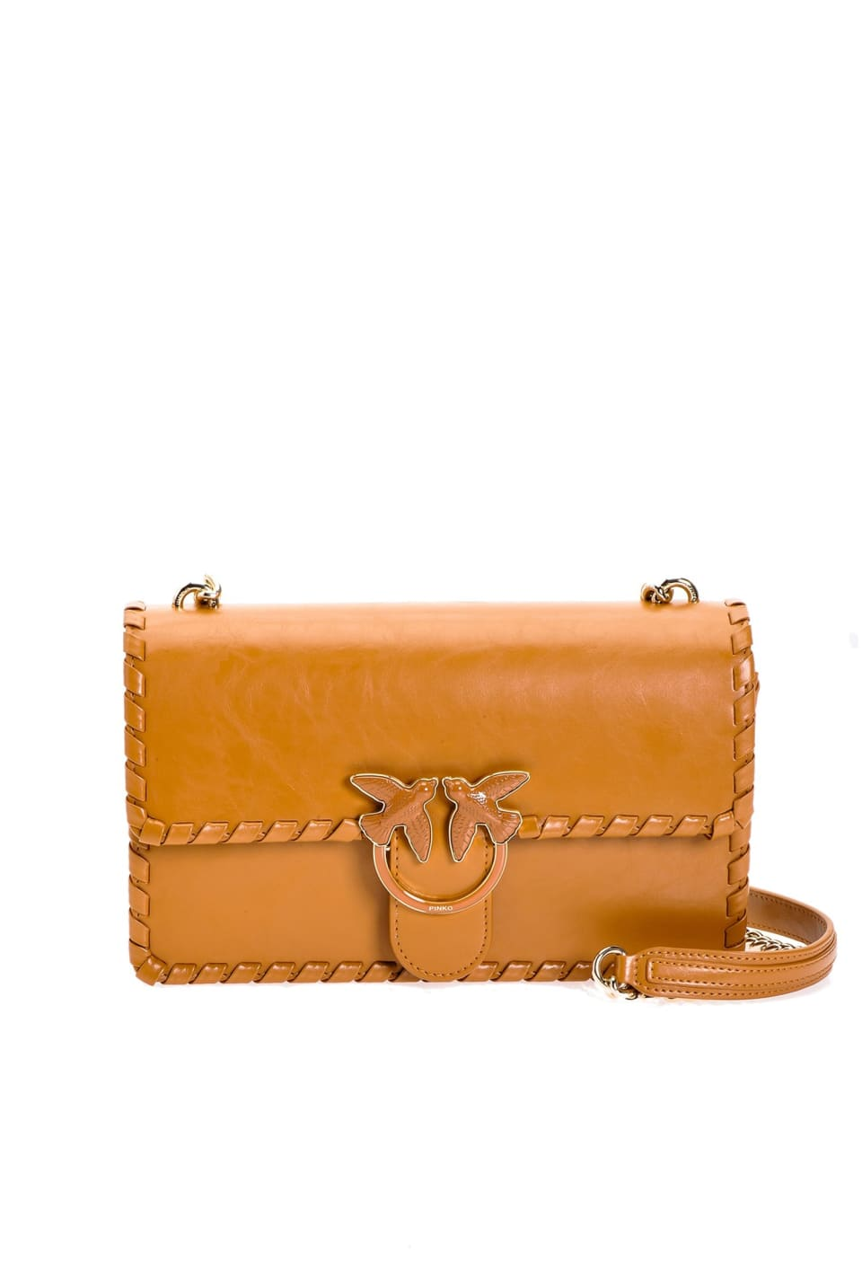 Love Bag Twist in leather