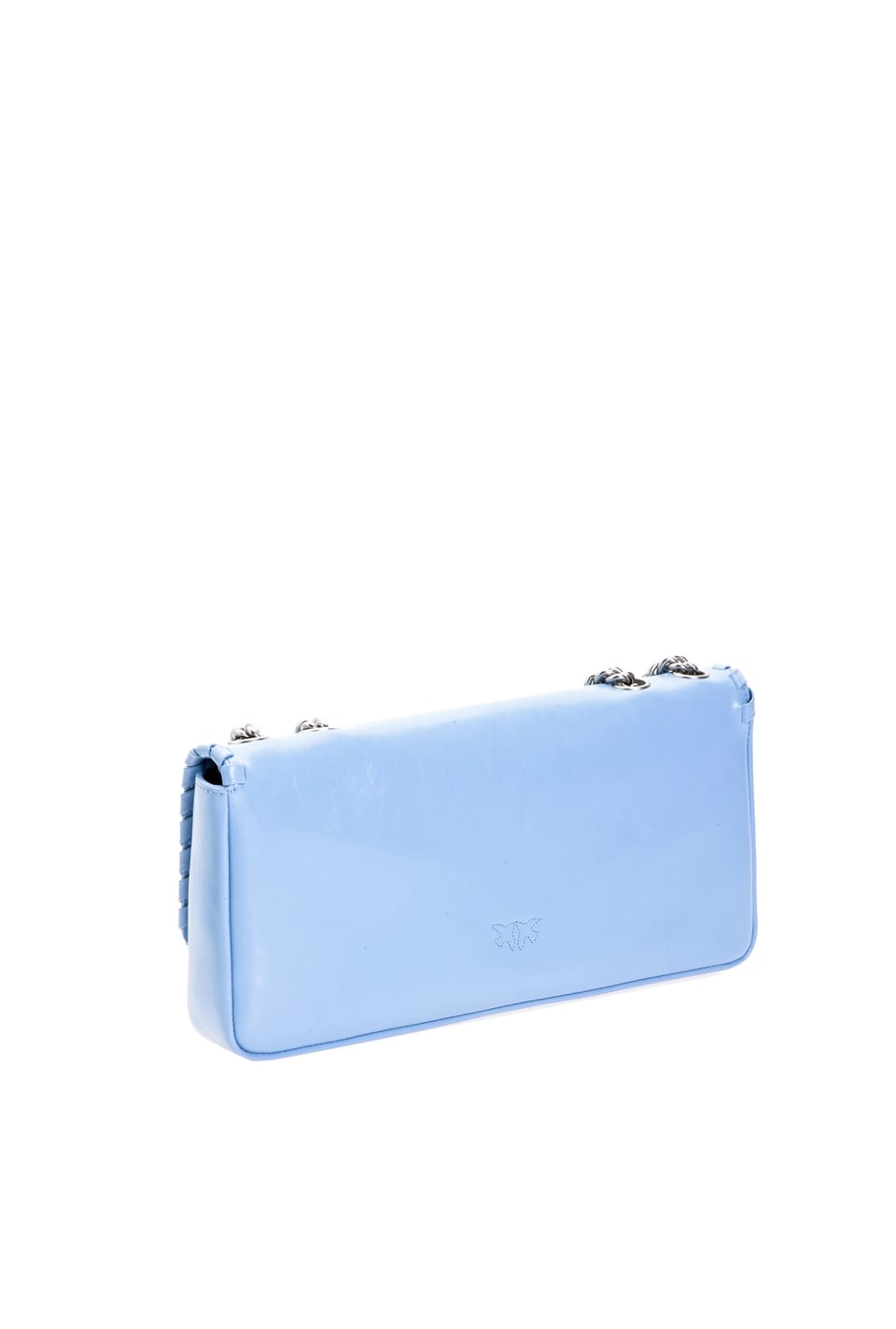 Pochette Maxi Bag Twist en cuir