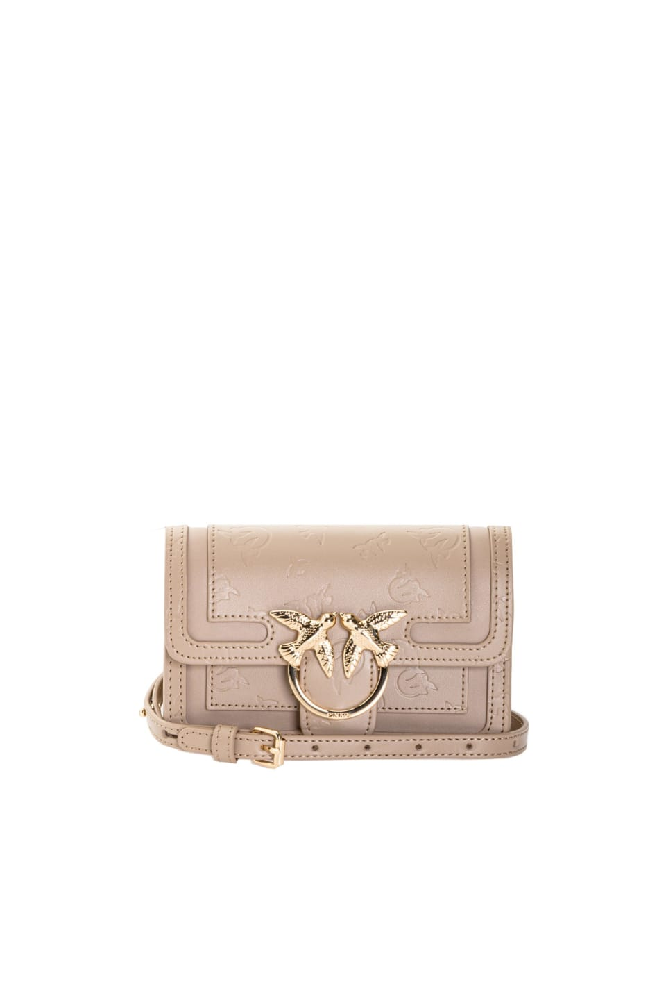 Baby Love Bag Monogram en cuir