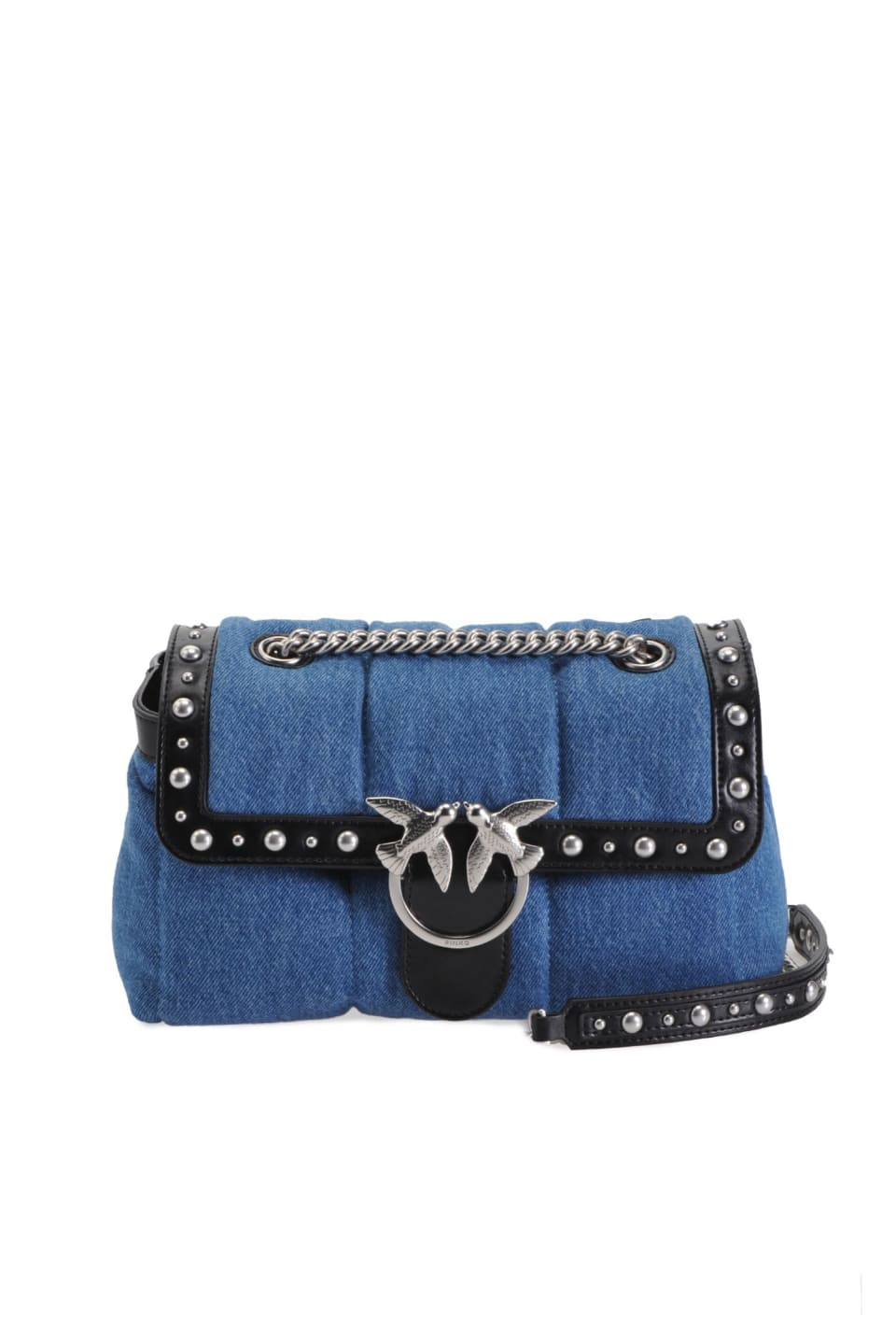 Love Bag Puff en jean