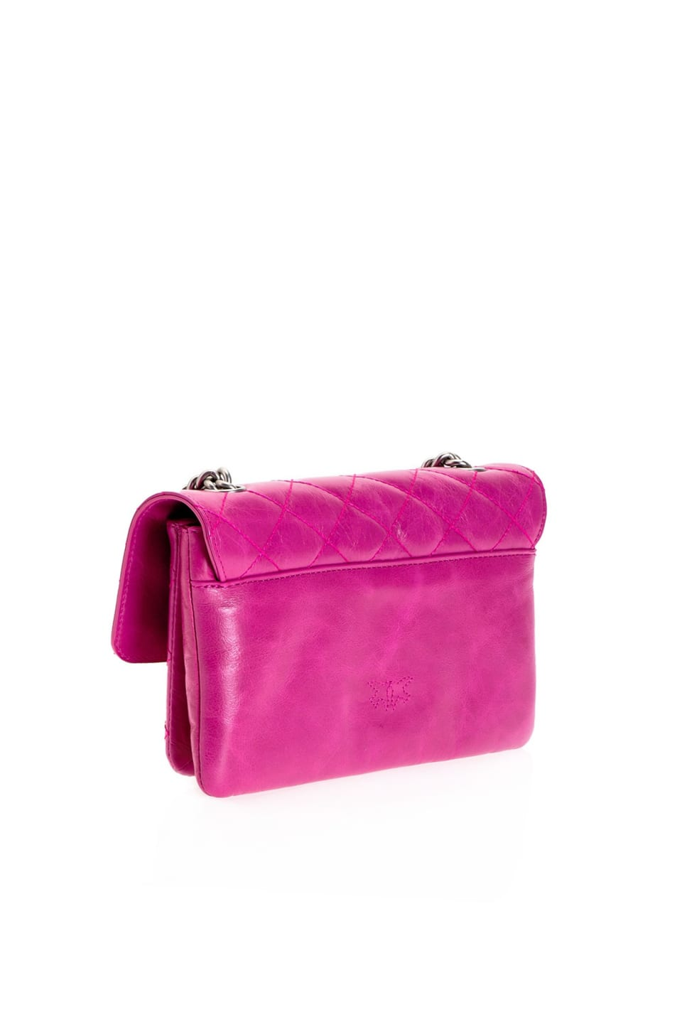 Mini Love Bag Soft Mix Shiny in leather