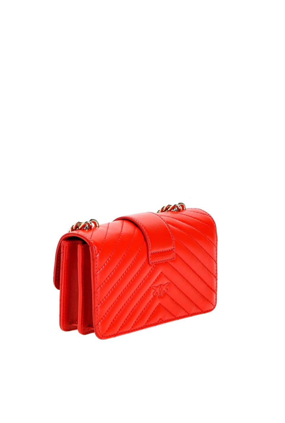 Mini Love Bag Mix in nappa leather