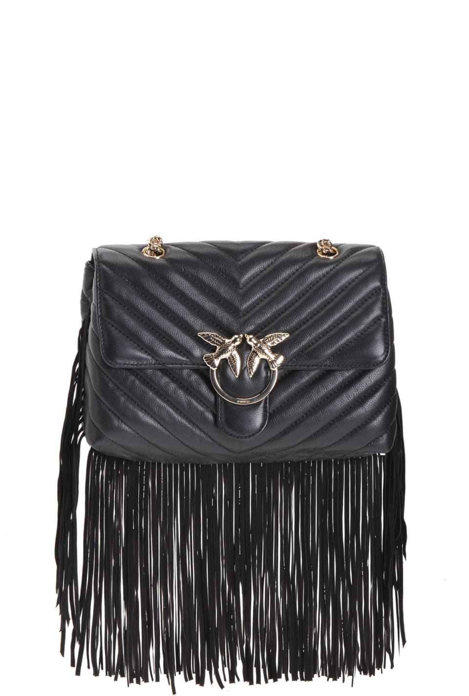 Love Bag Puff Fringes in nappa