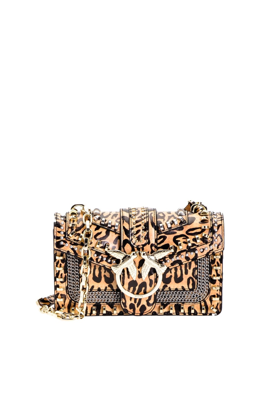 Mini Love Bag Mix Studs Animalier - Pinko