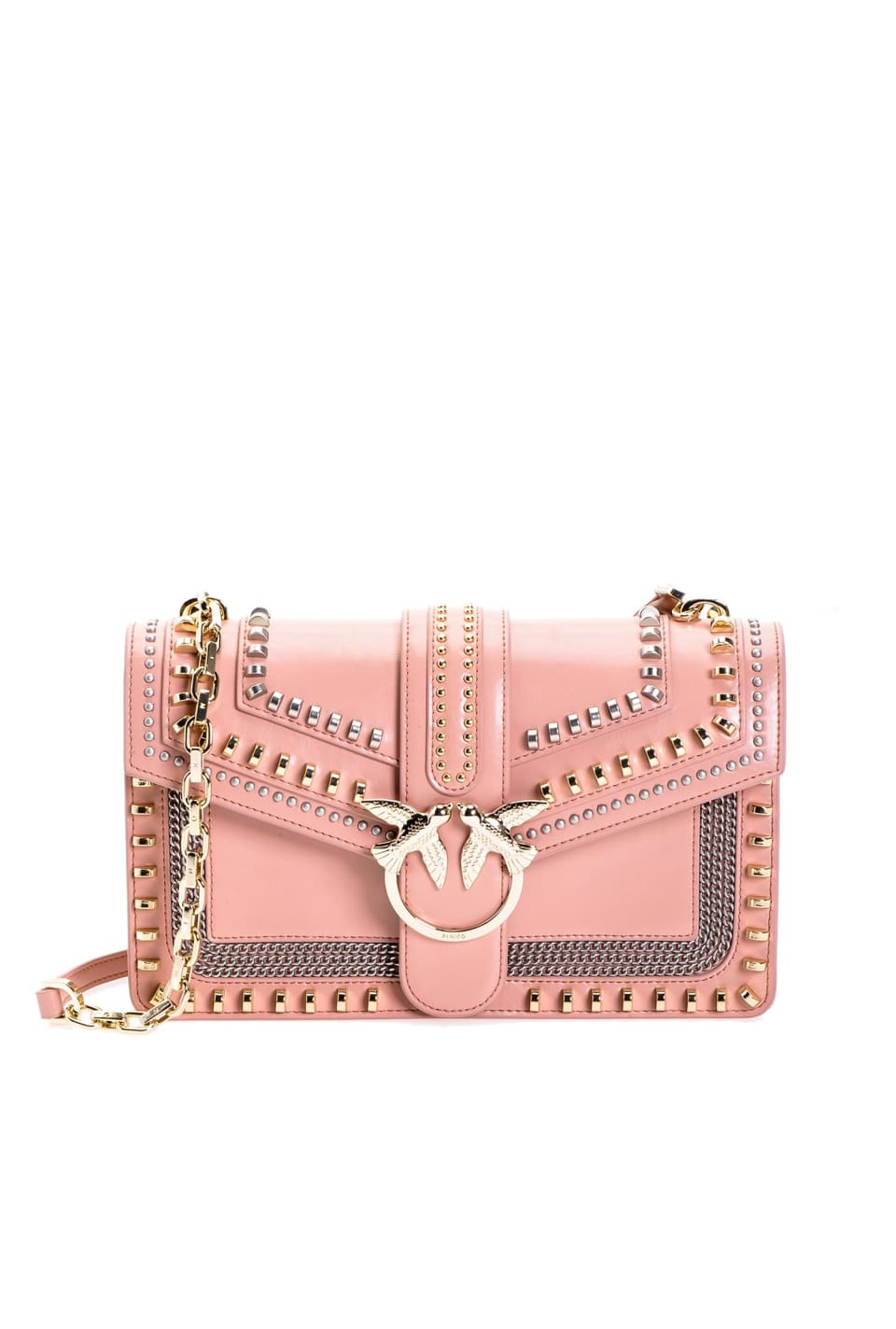 Love Bag Mix Studs in leather