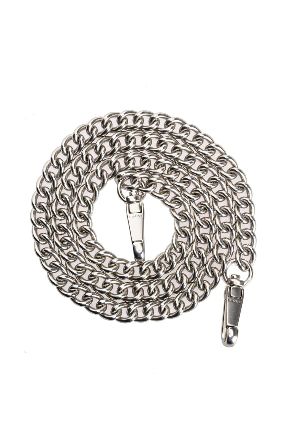 Metal chain shoulder strap