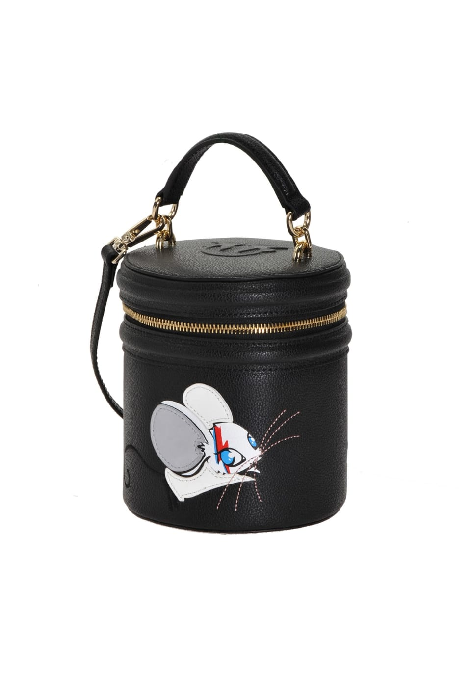 Rocky Mouse Roller Bag in leather - Pinko