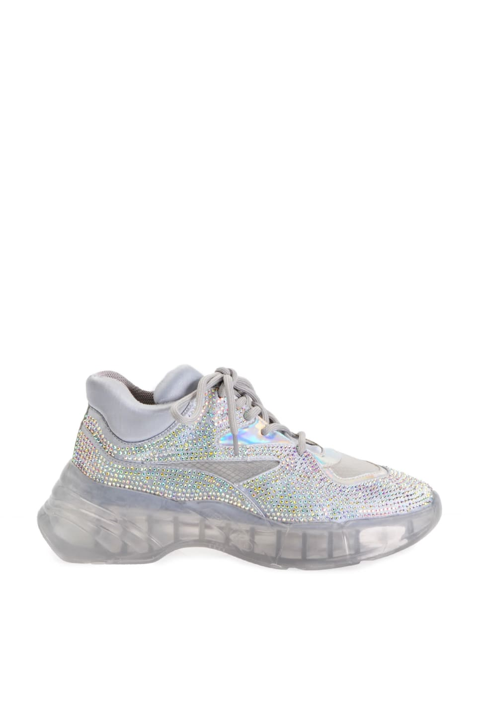 Full rhinestone diamond sneakers