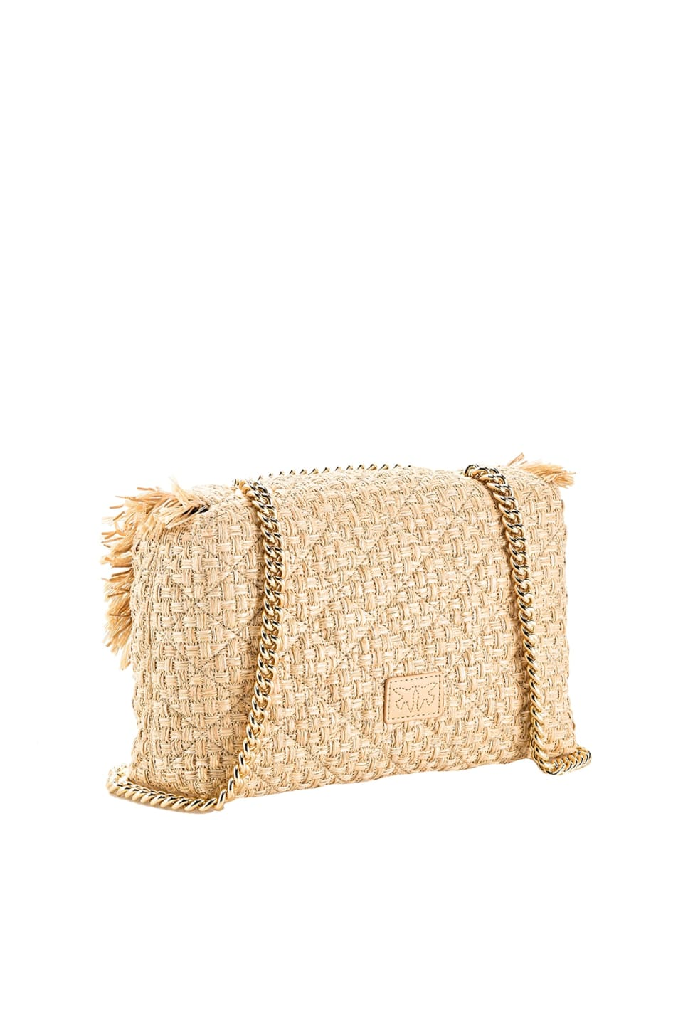 Love Bag Puff in raffia