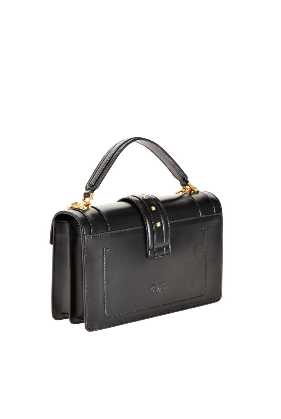 Classic Double P Bag Icon Classique in brushed leather
