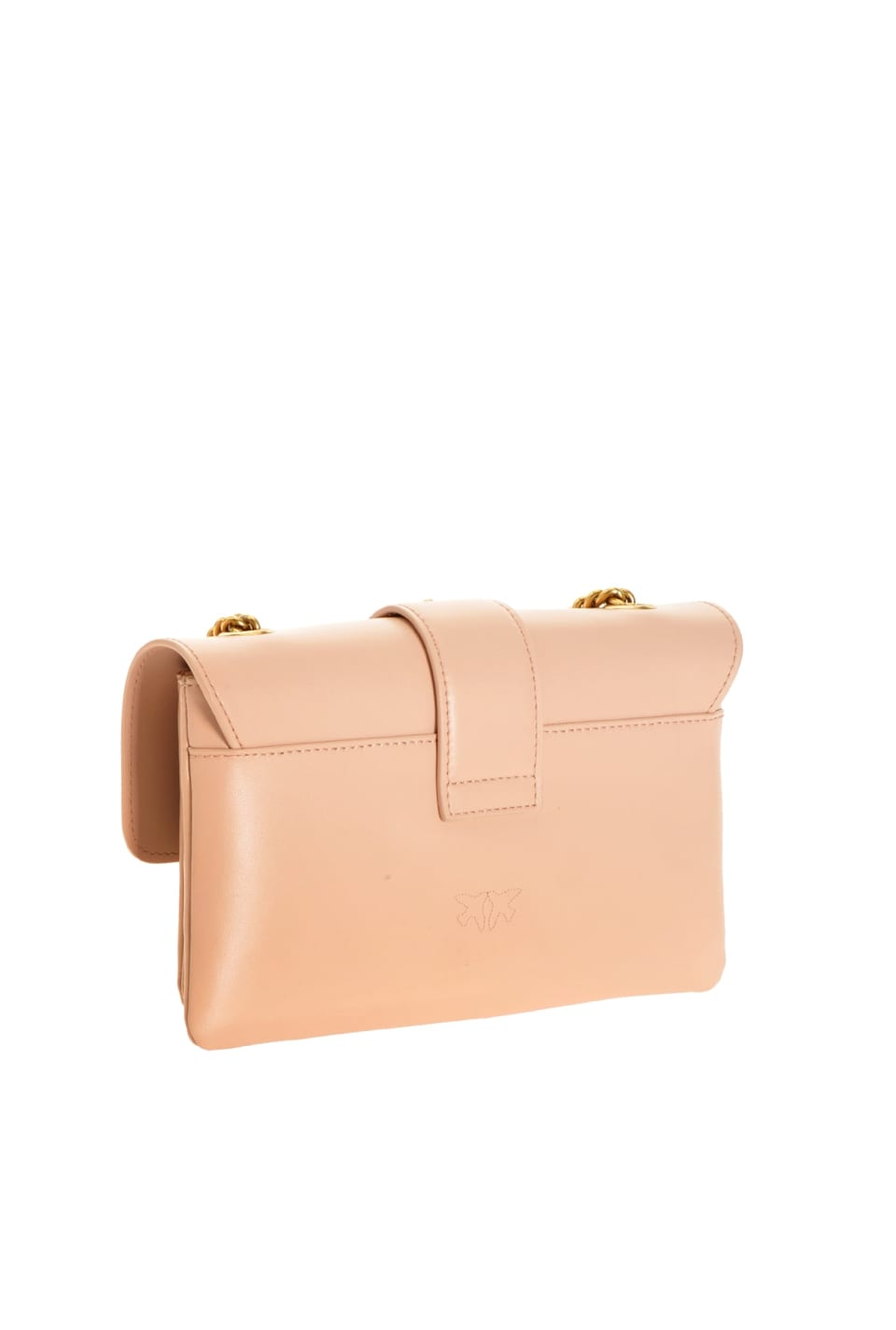Mini Love Bag Soft Simply in tumbled leather - Pinko