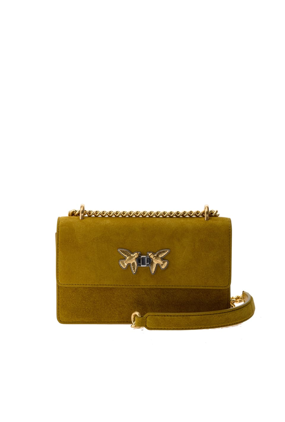 Mini Free Flight Bag Seventies in suede - Pinko