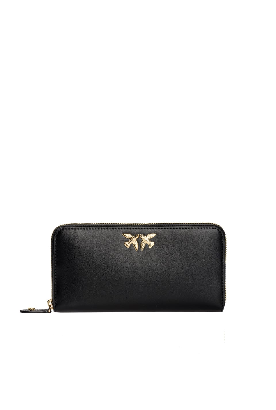 Zip-around wallet with Love Birds - Pinko
