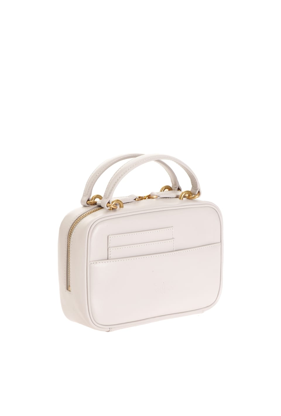 Mini Square Bag Simply in leather - Pinko