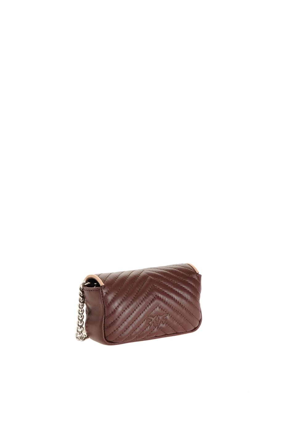Tiny Love Bag V Quilt in quilted nappa leather - Pinko