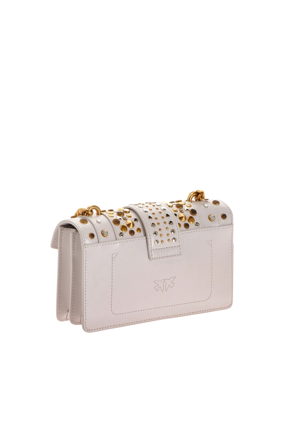 Mini Love Bag Icon New Studs avec cabochons - Pinko